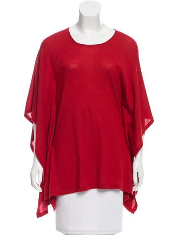Michael Kors Cashmere & Silk-Blend Knit Top None