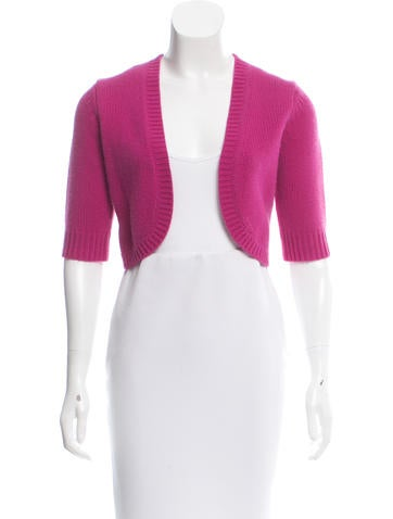 Michael Kors Cashmere Knit Shrug None