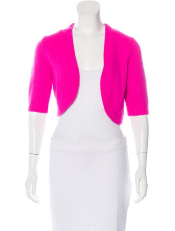 Michael Kors Cashmere Short Sleeve Shrug None