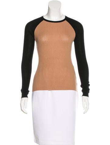 Michael Kors Rib-Knit Cashmere Top None