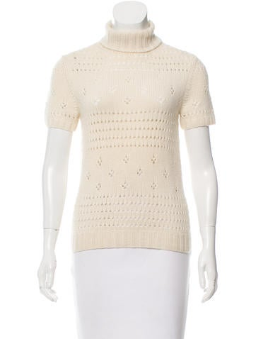 Michael Kors Cashmere Cable Knit Top None