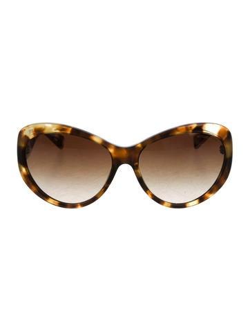 Michael Kors Cat-Eye Tortoiseshell Sunglasses