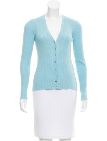 Michael Kors Embellished Long Sleeve Cardigan None