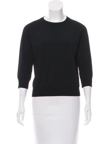 Michael Kors Three-Quarter Sleeve Sweater None