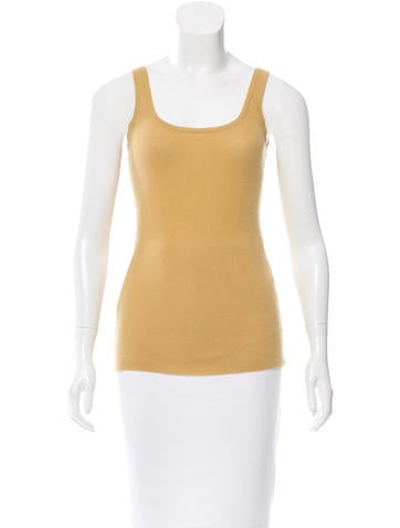 Michael Kors Rib Knit Sleeveless Top None