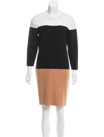 Michael Kors Knee-Length Sweater Dress None