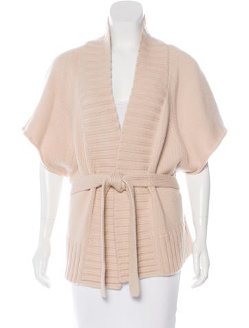 Michael Kors Cashmere Belted Cardigan None