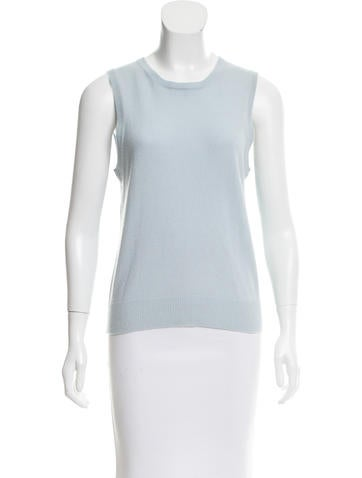 Michael Kors Collection Cashmere Knit Top None