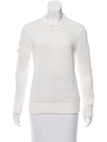 Michael Kors Linen Rib Knit Sweater None