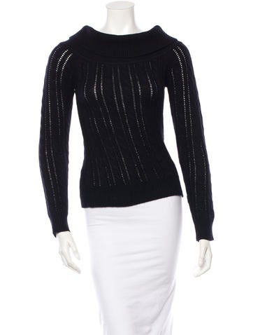 Michael Kors Cashmere Cable Knit Sweater None