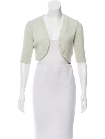 Michael Kors Cashmere Short Sleeve Shrug None