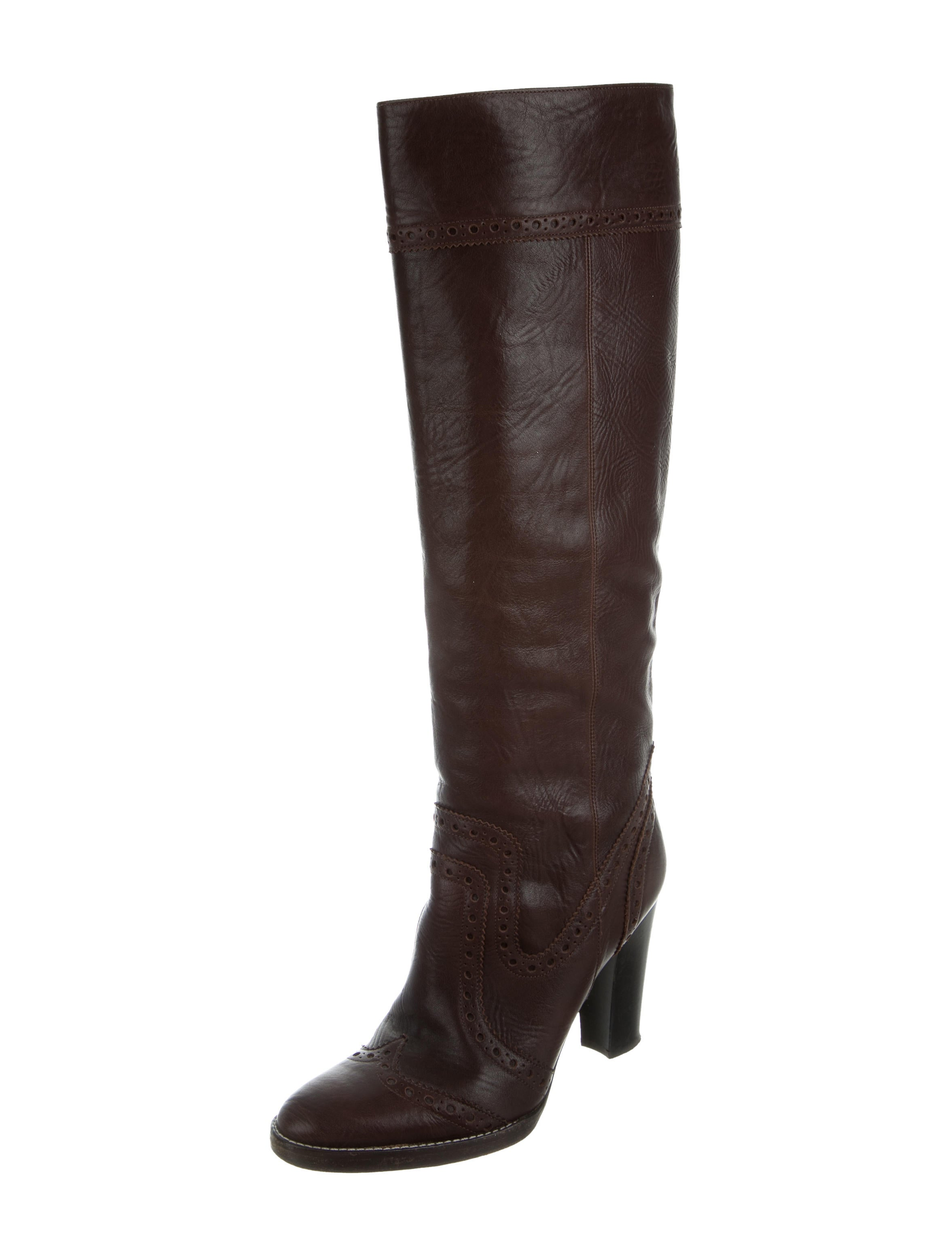 michael kors leather knee high boots shoes mic48333