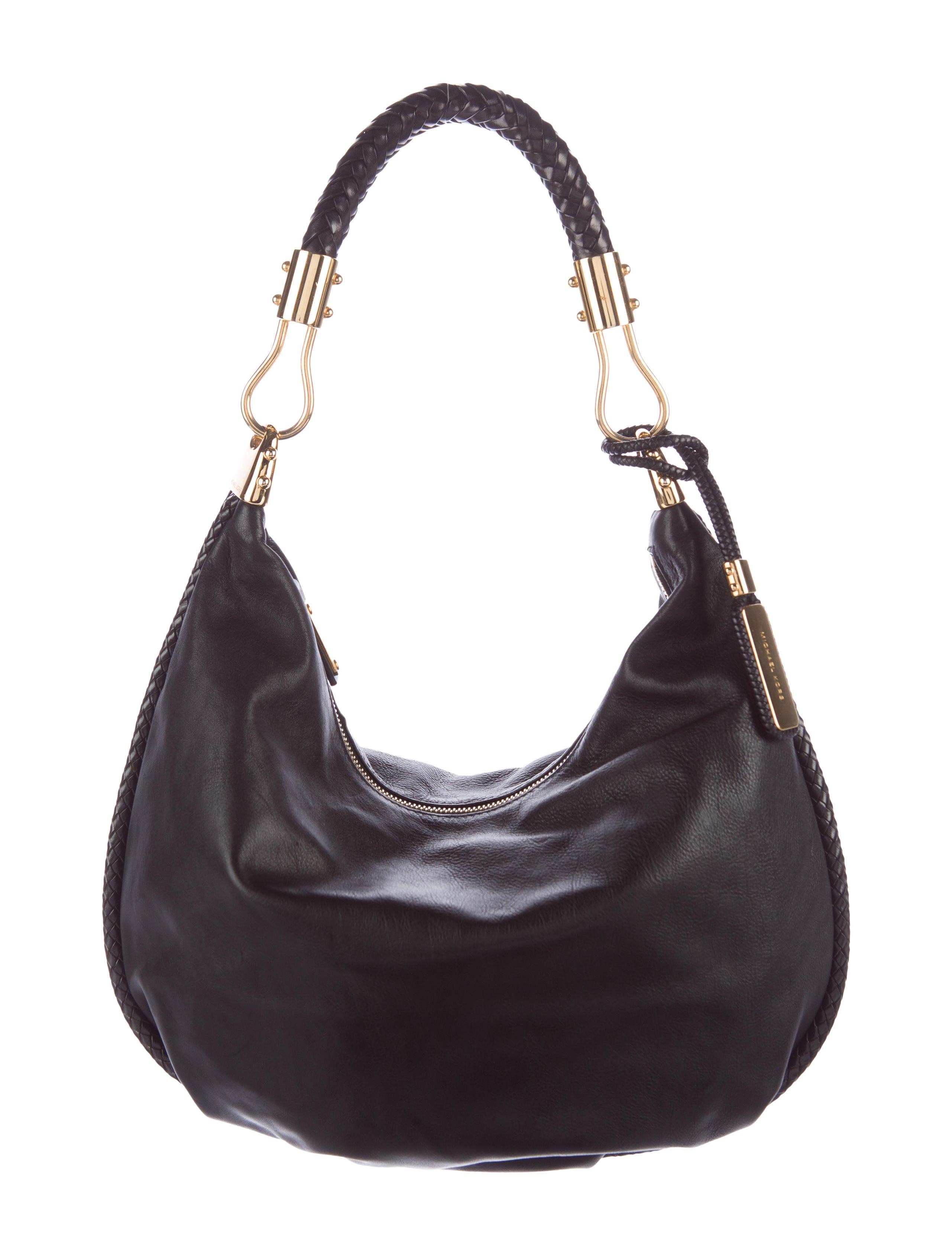 607f432615b6 Michael Kors Skorpios Leather Hobo - Handbags - MIC48403 | The RealReal