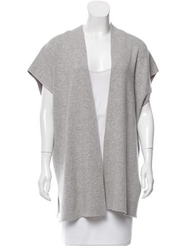 Michael Kors Open Front Cashmere Sweater None