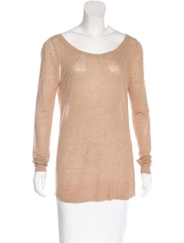 Michael Kors Long Sleeve Rib Knit Sweater None
