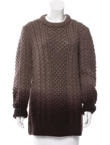 Michael Kors Wool Ombré Sweater None