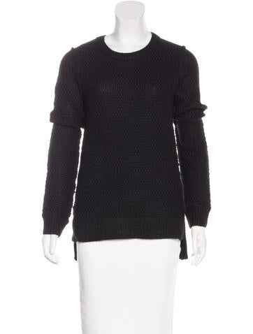 Michael Kors Alpaca & Wool-Blend High-Low Sweater w/ Tags None