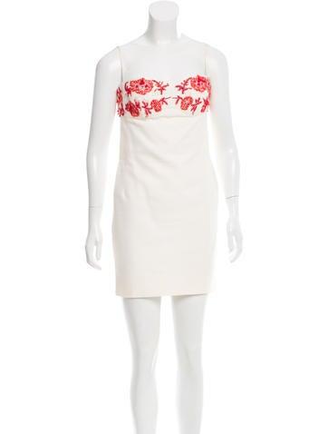 Michael Kors Embellished Mini Dress None