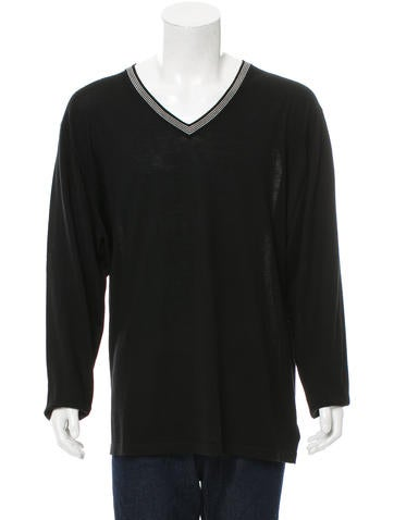 Michael Kors Merino Wool V-Neck Sweater None