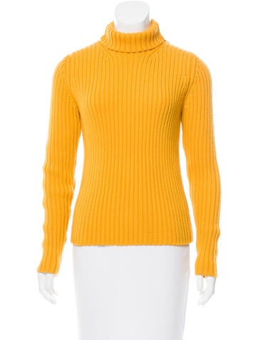 Michael Kors Rib Knit Wool Sweater None