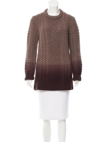 Michael Kors Ombré Merino Wool Sweater None