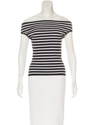 Michael Kors Patterned Knit Top None