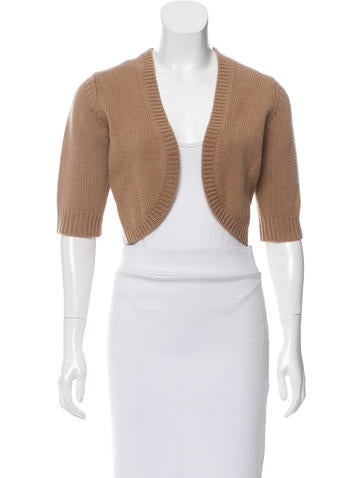 Michael Kors Cashmere Knit Shrug None