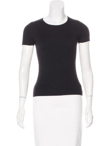 Michael Kors Knit Short Sleeve Top None