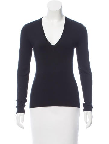 Michael Kors Cashmere Long Sleeve Top w/ Tags None
