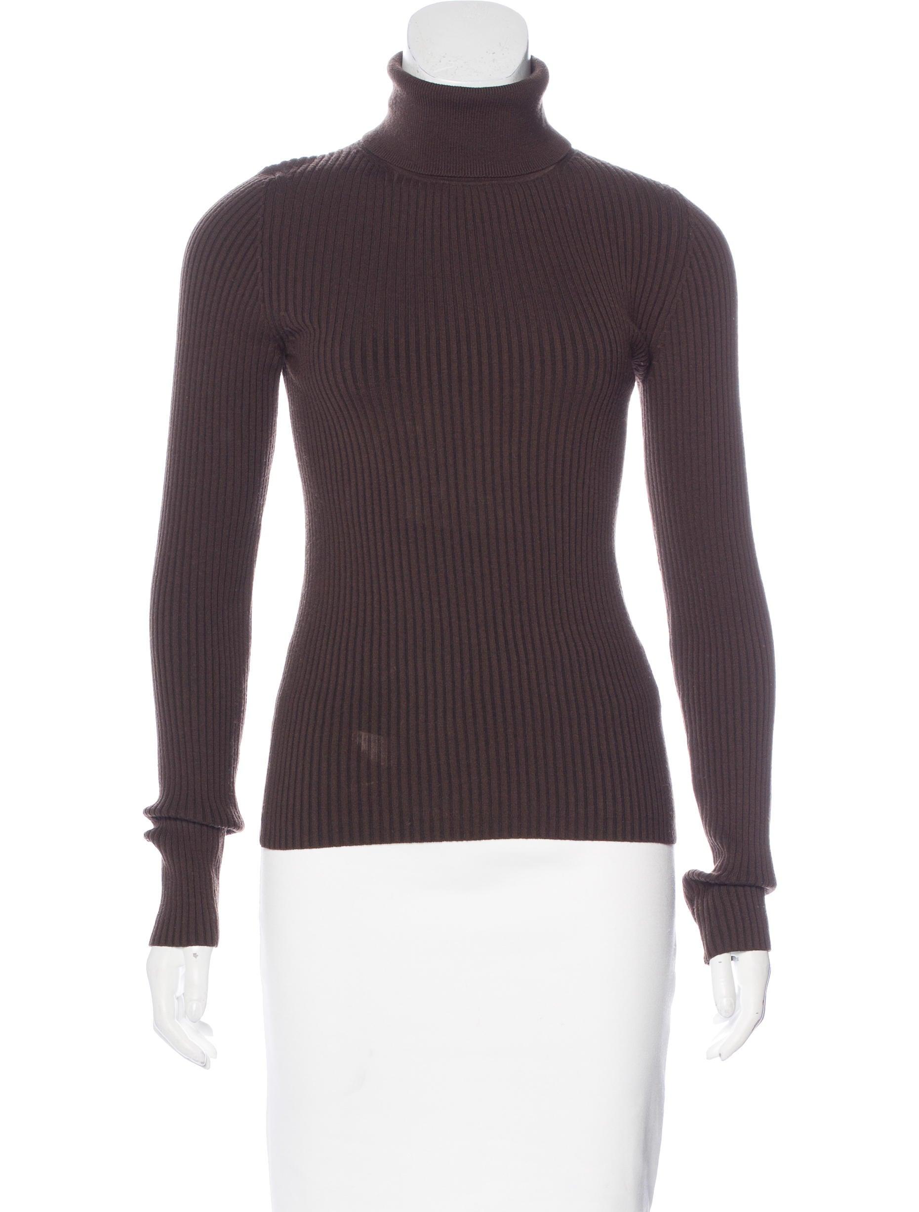 Michael kors wool rib knit top clothing mic50900 the for Best wool shirt jackets