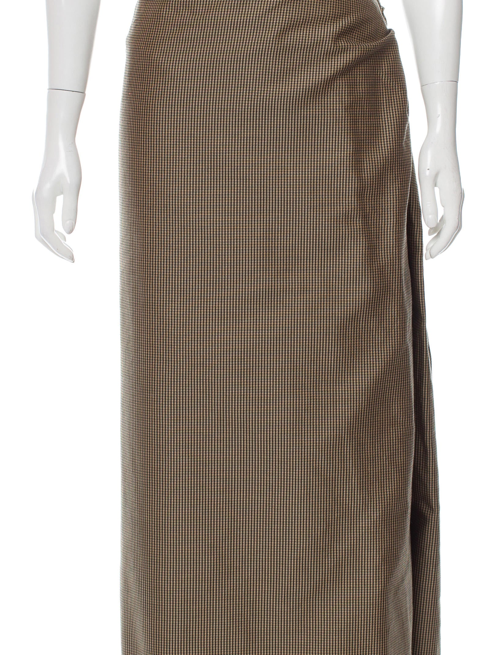 michael kors pattern maxi skirt clothing mic51179