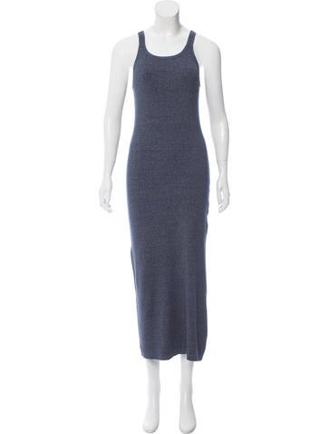 Michael Kors Rib Knit Midi Dress None