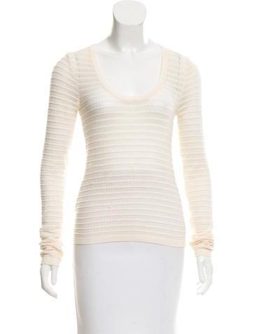 Michael Kors Knit Long Sleeve Top None