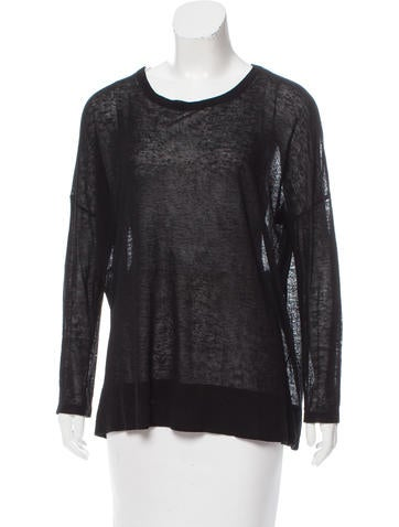 Michael Kors Long Sleeve Knit Top None