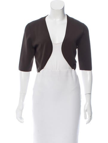 Michael Kors Short Sleeve Bolero Jacket None