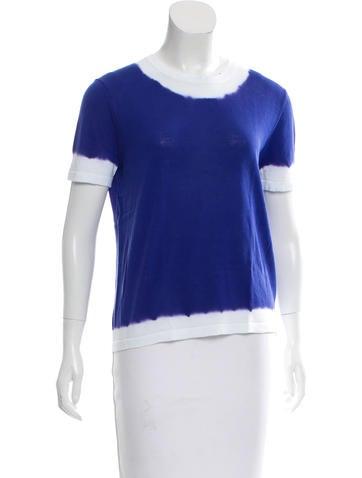 Michael Kors Tie-Dye Knit Top None
