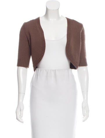 Michael Kors Cropped Cashmere Sweater None
