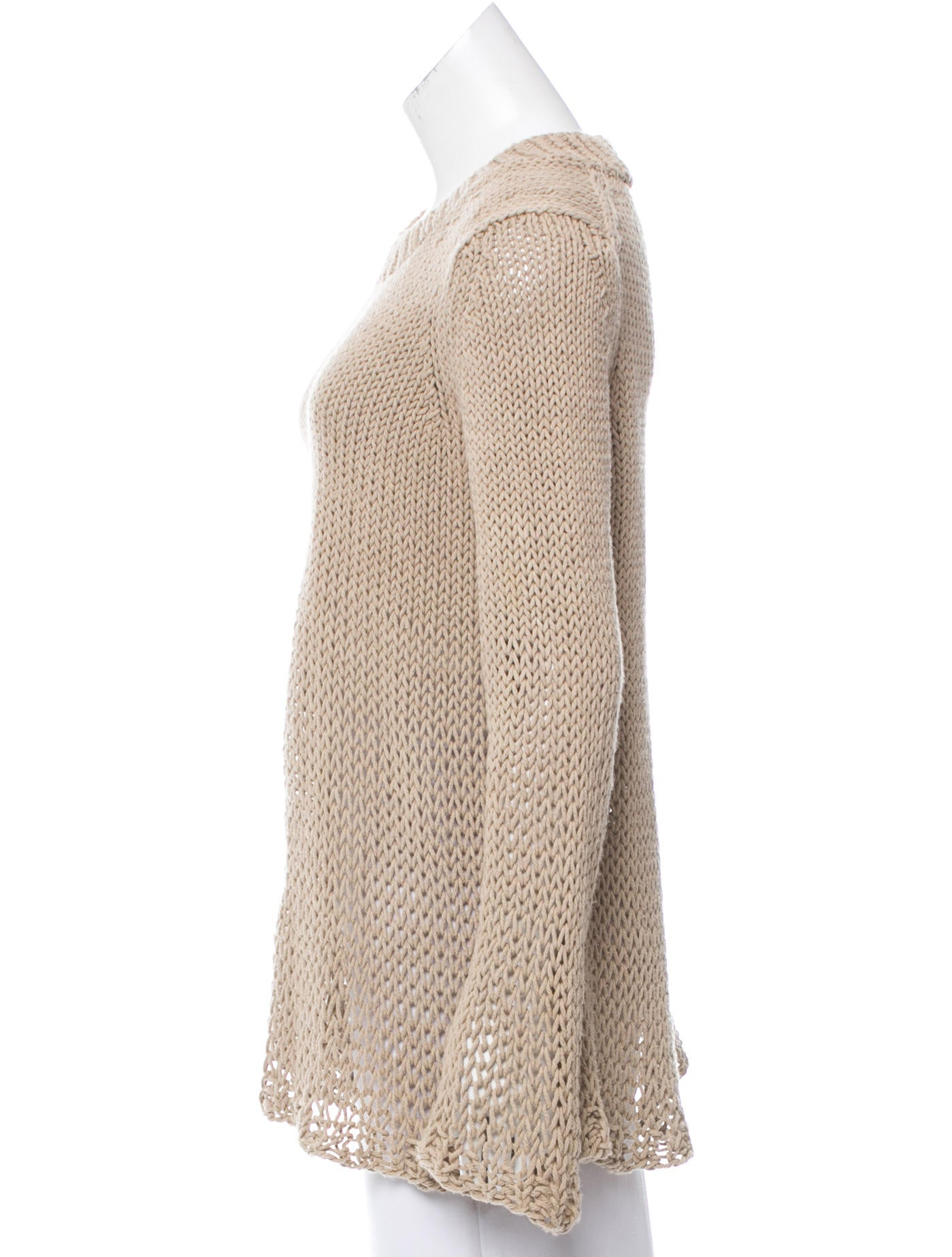 michael kors oversize knit sweater clothing mic52946 the realreal. Black Bedroom Furniture Sets. Home Design Ideas