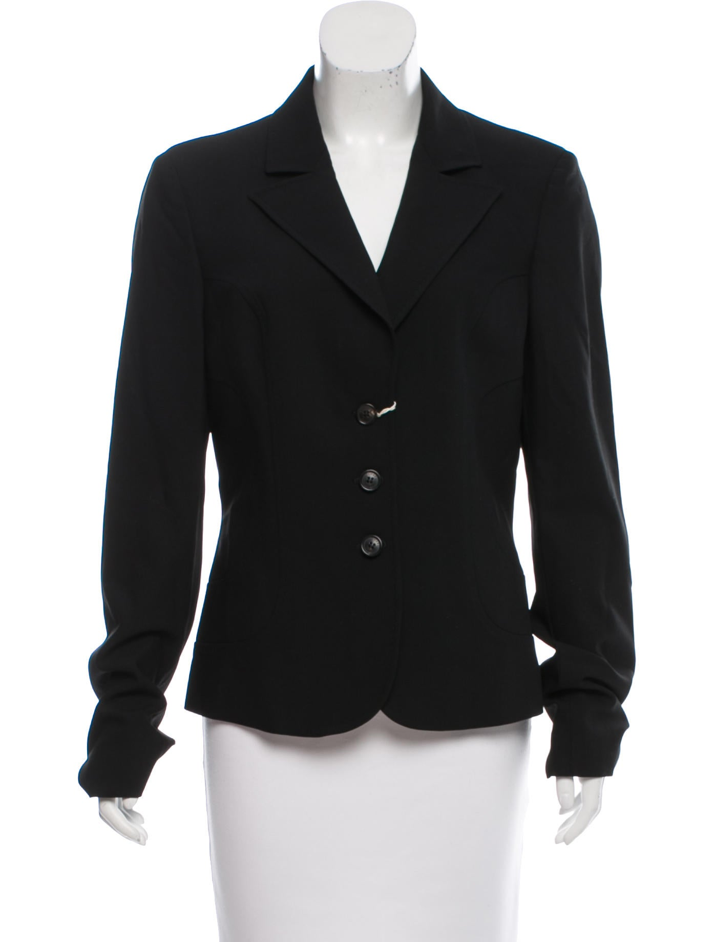 michael kors wool notch lapel blazer w tags clothing mic53007 the realreal. Black Bedroom Furniture Sets. Home Design Ideas
