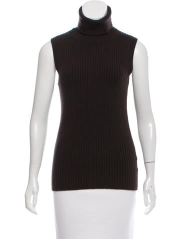 Michael Kors Wool Sleeveless Sweater None