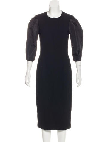 Michael Kors Wool Midi Dress w/ Tags None