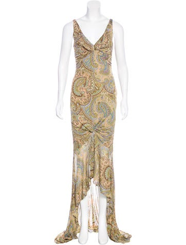 Michael Kors Embellished Maxi Dress None