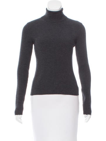 Michael Kors Wool Rib Knit Sweater None