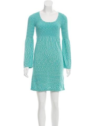 Michael Kors Mélange Mini Dress None