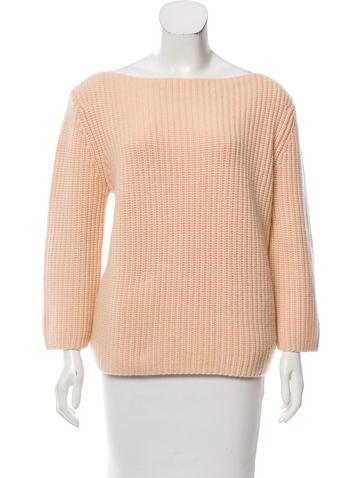 Michael Kors Cashmere Bateau Sweater None