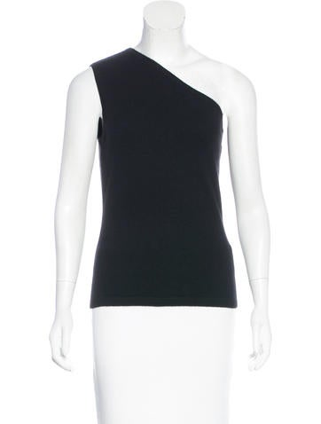 Michael Kors One-Shoulder Cashmere Sweater w/ Tags None