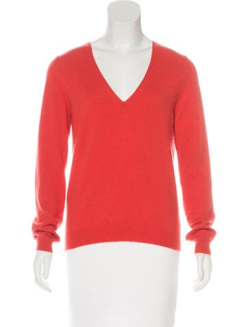 Michael Kors V-Neck Long Sleeve Sweater None