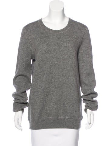 Michael Kors Cashmere-Blend Long Sleeve Sweater None