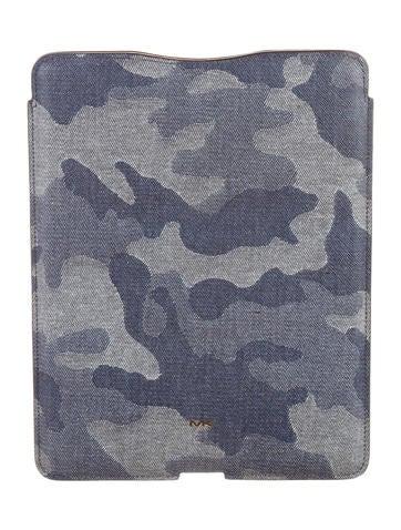 Michael Kors Camouflage Leather Ipad Case Technology