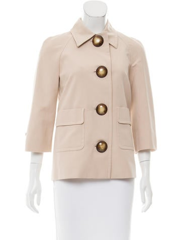 Michael Kors Knit Long Sleeve Jacket None